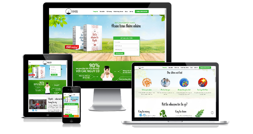 Thiết Kế Landing Page chống thấm